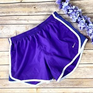 Nike Dri-Fit Athletic Running Workout Purple Short